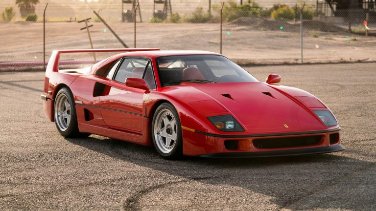 10 Secrets About The Ferrari F40 That Few People Know